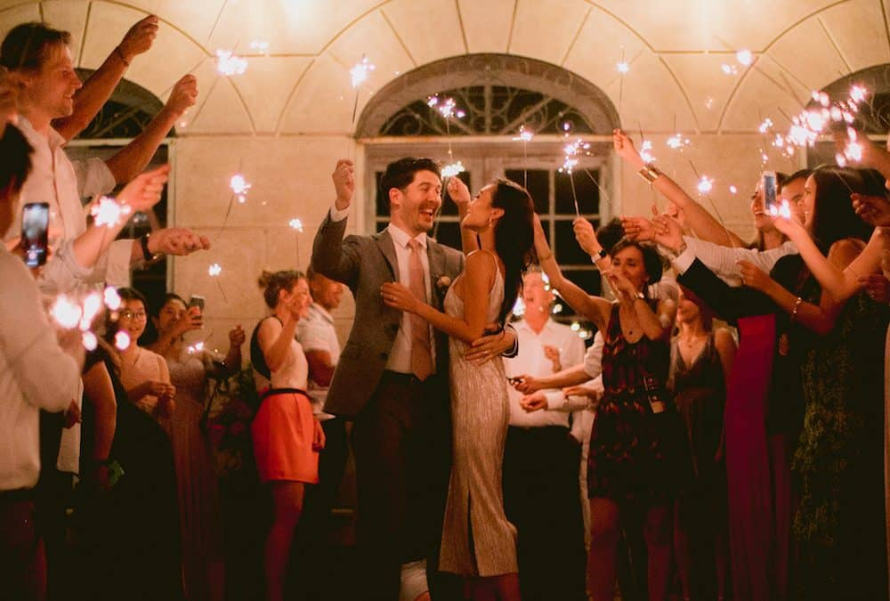 Destination Wedding : An american wedding in Provence