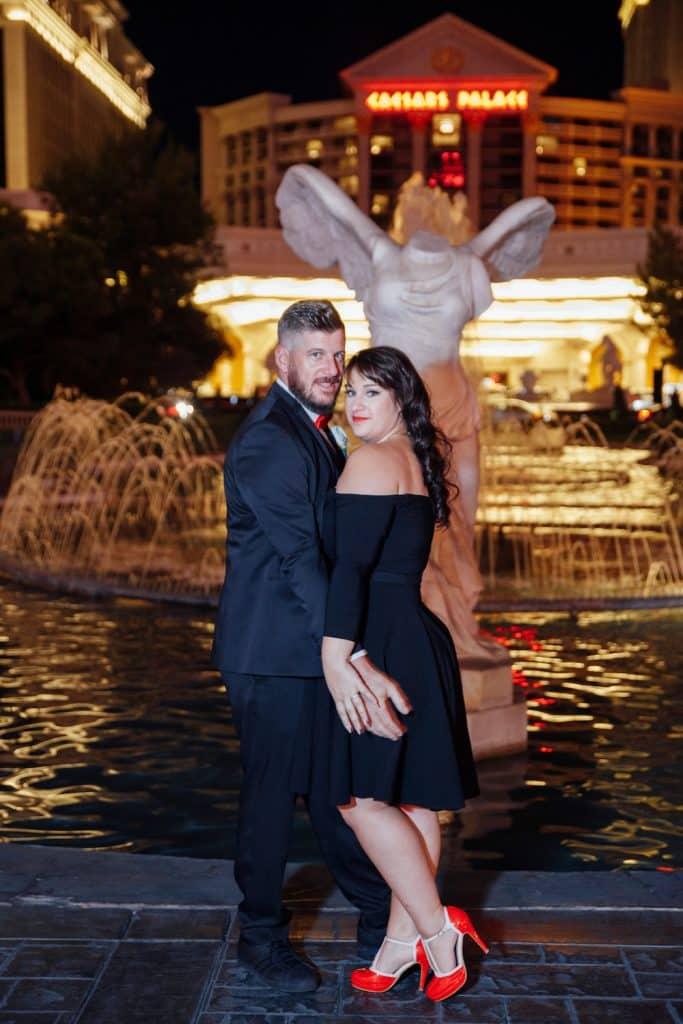 Wedding destination : Le mariage à Las Vegas de Charlotte et Jérôme