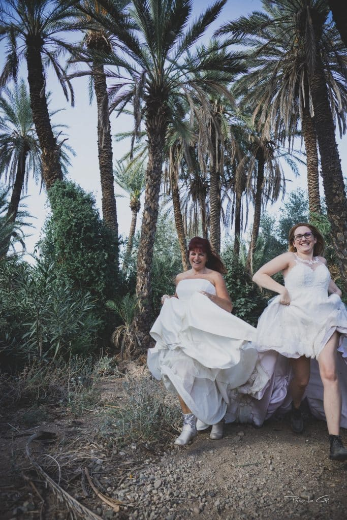 trash the dress marrakech